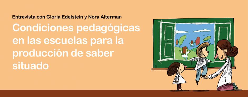 Entrevista con Gloria Edelstein y Nora Alterman